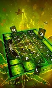 Jamaican Rasta Keyboard Theme - náhled