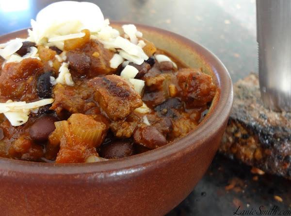 Steakhouse Black Bean Chili Recipe