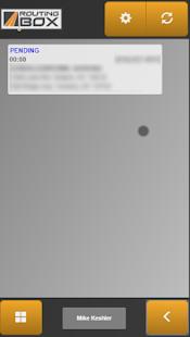 RoutingBox Mobile screenshot