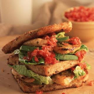 Chicken Pesto Sandwiches.