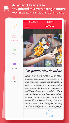 Scan & Translate + Text Grabber 2.0.0 screenshots 1