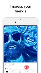 Icon8 Art Filters for Selfies: miniatura de captura de pantalla