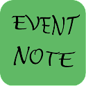 EventNote-Notebook notes icon