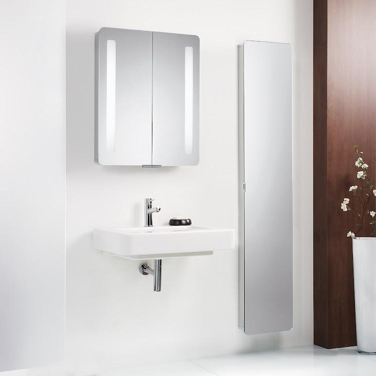 Armoires de toilette en aluminium_DB_Einstiegsseite schmal t