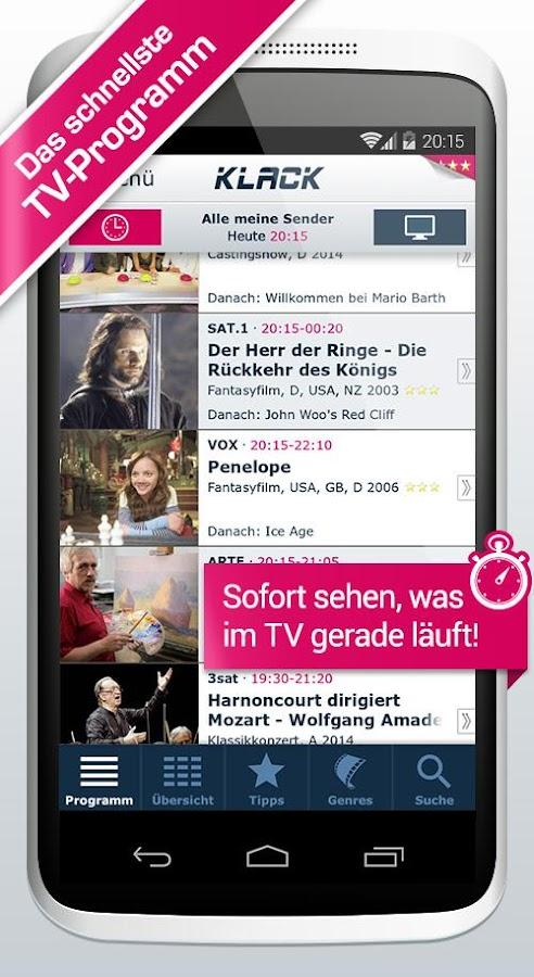 KLACK TV Programm | TV & Film- screenshot