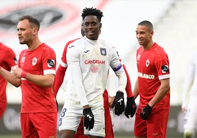 """Sambi Lokonga métronome d'un excellent Anderlecht : """"On a mis tous les ingrédients"""""""