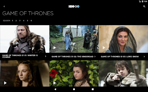HBO GO Hong Kong- screenshot thumbnail