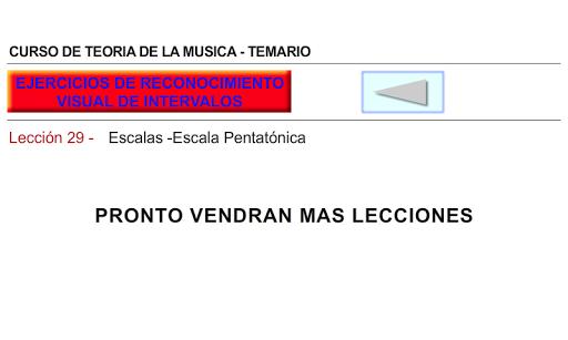 CURSO DE TEORIA DE LA MUSICA 1.0.19 screenshots 6