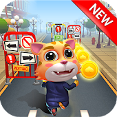 Cat Run - My Tom Subway Surf & Cat Talking Android APK Download Free By G-Game