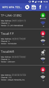 WIFI WPS WPA TESTER- screenshot thumbnail