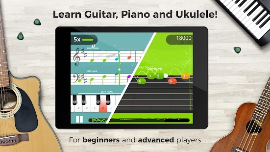 yousician learn piano guitar android apps on google play. Black Bedroom Furniture Sets. Home Design Ideas