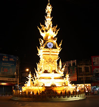 Photo: Day 340 - The Ostentatious Clock in Chiang Rai