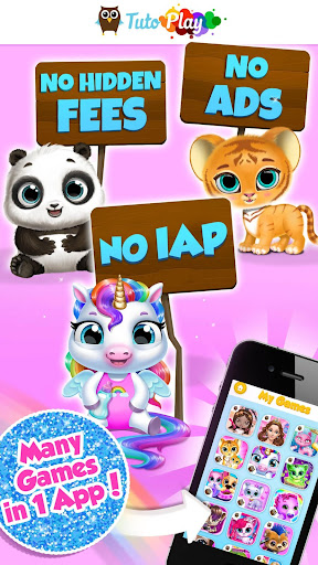 TutoPLAY - Best Kids Games in 1 App 3.4.500 screenshots 1