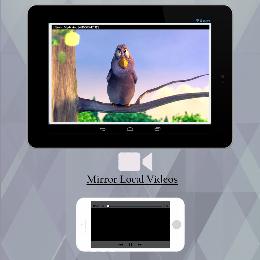 how to connect ipad 1 mirroring