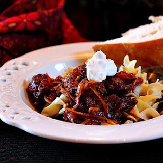 Pork Stew with Paprika and Sauerkraut