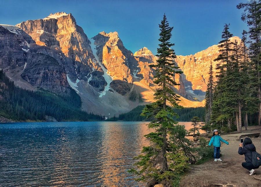 Moraine Lake by Margie Troyer - Instagram & Mobile iPhone (  )