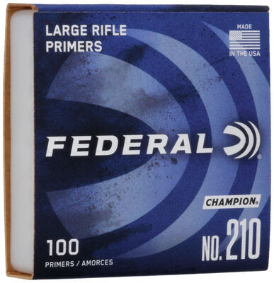 Federal Primers 210 Large Rifle