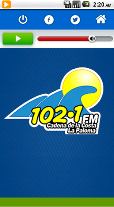 Cadena de la Costa 102.1 FM- screenshot
