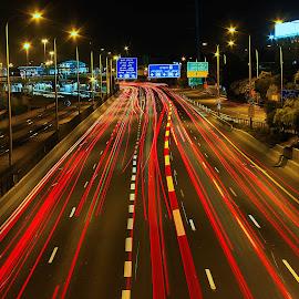 telaviv by Catalino Adolfo   Jr. - Transportation Roads ( transportation, roads )