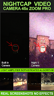 Night Capture Video Camera Screenshot