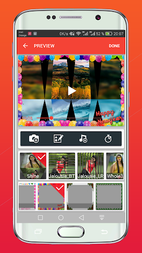 Screenshot for flipagram video maker slideshow video in United States Play Store