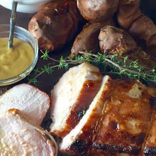 Honey Mustard Pork Roast.