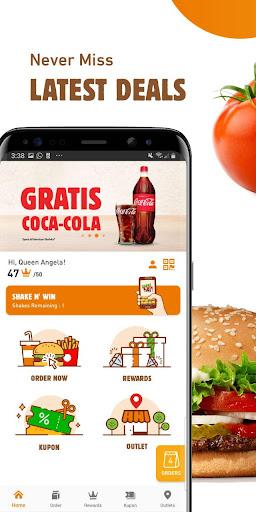 Burger King Indonesia 1.4.1 screenshots 1