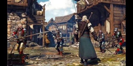 The witcher 3 PS4 game in android 2.4.9 screenshots 3
