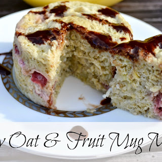 Skinny Oat & Fruit Mug Muffin