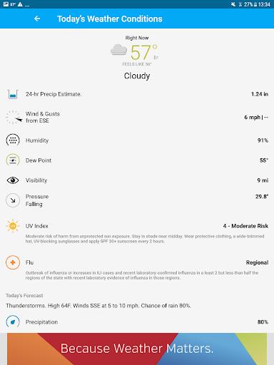 Weather data & microclimate : Weather Underground 6.7 Screenshots 10