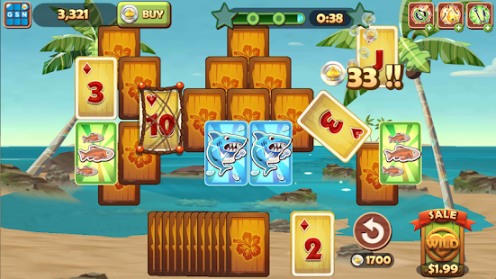 Solitaire TriPeaks Screenshot