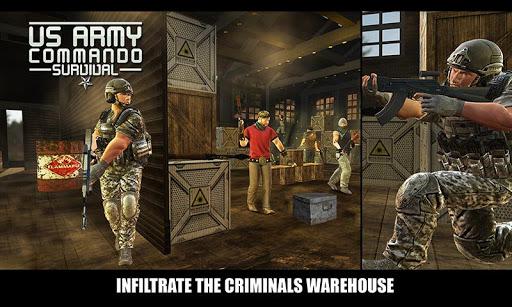US Army Commando Survival - FPS Shooter 1.8 screenshots 1