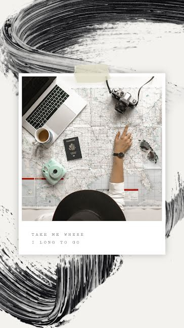 Travel Planning - Facebook Story Template