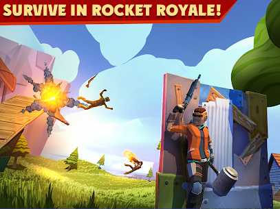 Rocket Royale MOD (God Mod / Max Armor / Infinite Ammo) 1