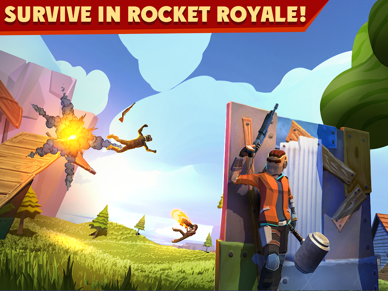 Rocket Royale Screenshot 0