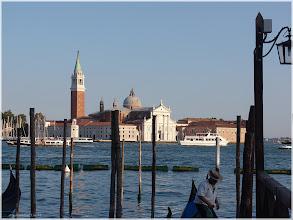 Photo: Vista de la Isala de San Giorgio Maggiore desde Plaza San Marcos Venecia http://www.viajesenfamilia.it/