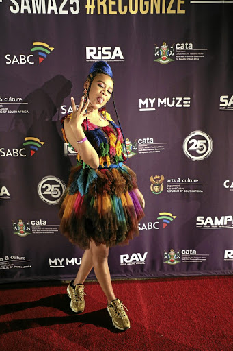 Sho Madjozi is riding the crest of the wave.