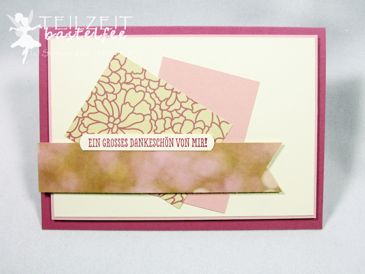 Stampin' Up! - Muttertag, Dankeschön, Thank you, Mother's Day