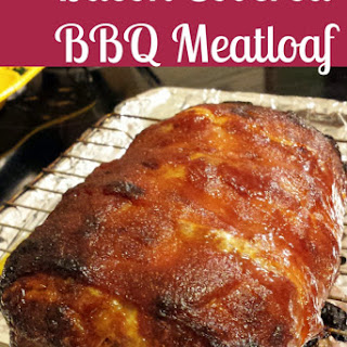 Bacon Covered BBQ Meatloaf Recipe