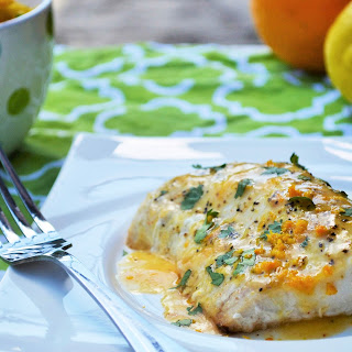 Baked Mahi Mahi with Citrus Glaze