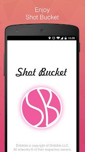 Shot Bucket - Dribbble shots- screenshot thumbnail