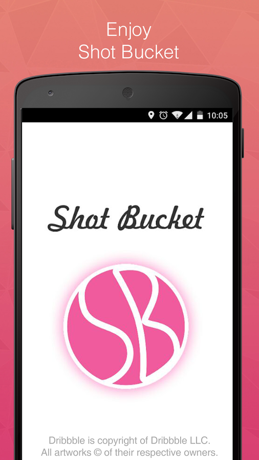 Shot Bucket - Dribbble shots- screenshot