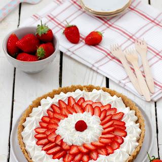 No-Bake Strawberry and Yogurt Pie.