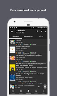 Podcast Republic - Podcast & Audiobook App: miniatura de captura de pantalla