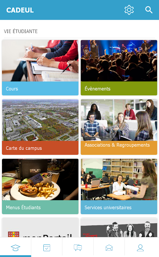 CADEUL campus Université Laval- screenshot