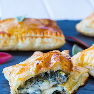 Cheesy Kale Hand Pies