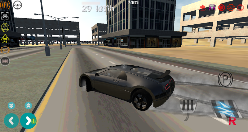 Скриншот Nitro Car Simulator 3D