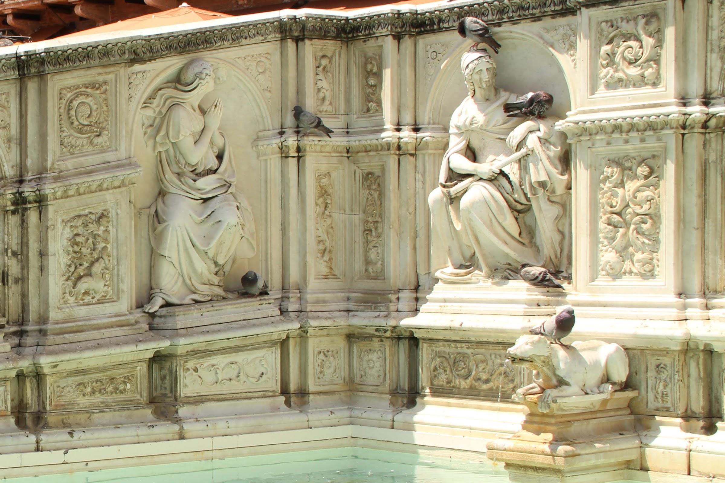 La Speranza, Fonte Gaia, Piazza del Campo