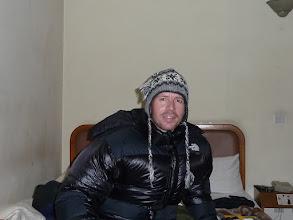Photo: Lyngve trying his new North Fake jacket in Kathmandu