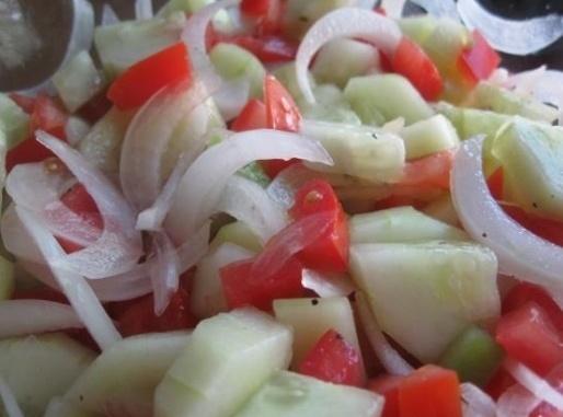 Nana's Light And Easy Salad Recipe